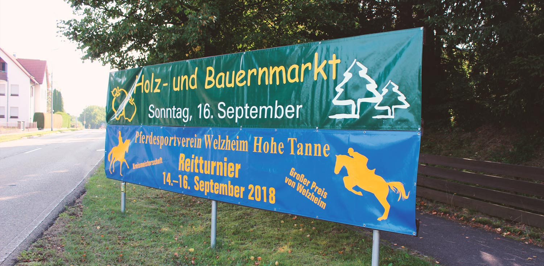 Banner GIRAFFIKKA 73642 Welzheim Rudersberger Str. 14