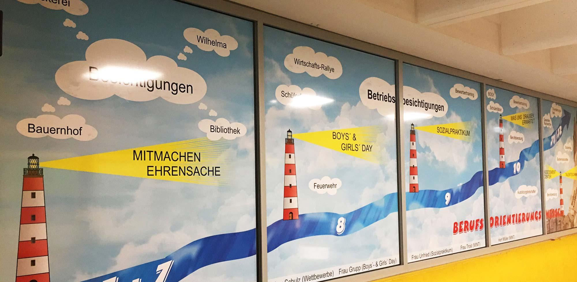 Schaufensterbeschriftung GIRAFFIKKA 73642 Welzheim Rudersberger Str. 14